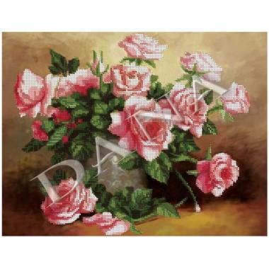 """Схема для вишивки бісером """"Чайні троянди"""""""