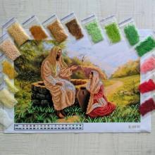 N-0030 Ісус і самаритянка. Набір з бісером