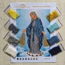 N-0133 Непорочне зачаття Діви Марії А5. Набір з бісером