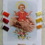 N-0213 Малий Ісус на сіні. Набір з бісером