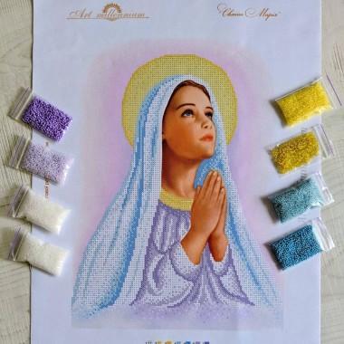 N-0246 Свята Марія. Набір з бісером