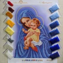 N-0247 Мадонна з дитям. Набір з бісером