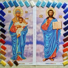 Набір ікон (R-0282 / R-0283) з бісером
