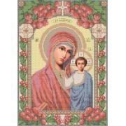 R-0013 Казанська ікона Божої Матері А4 (калина) (варіант 2)