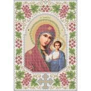 R-0015 Казанська ікона Божої Матері А4 (калина) (варіант 3)