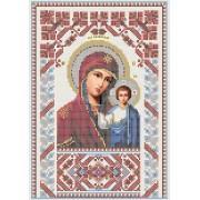 R-0021 Казанська ікона Божої Матері А4 (орнамент)