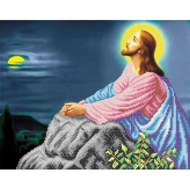 R-0039 Ісус на оливковій горі. Схема вишивки