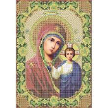 R-0045 Казанська ікона Божої Матері А4 (дубове листя)