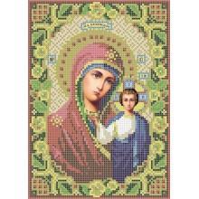 R-0046 Казанська ікона Божої Матері А5 (дубове листя)
