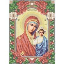 R-0069 Казанська ікона Божої Матері А3 (калина)