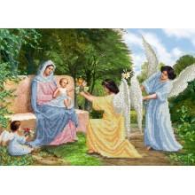 R-0098 Марія з немовлям і ангелами A3