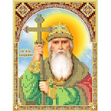 R-0135 Святий князь Володимир (13х17 см)
