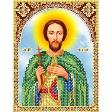 R-0149 Святий мученик Євгеній (13х17 см)