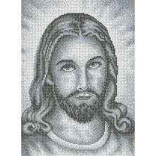 R-0185 Ісус (срібло, повна зашивка) А3