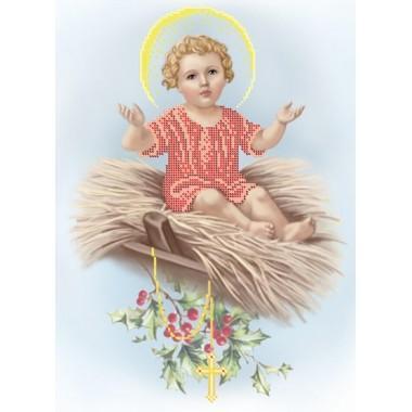 R-0213 Малий Ісус на сіні