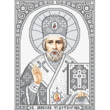 R-0218 Святий Миколай (срібло) А3