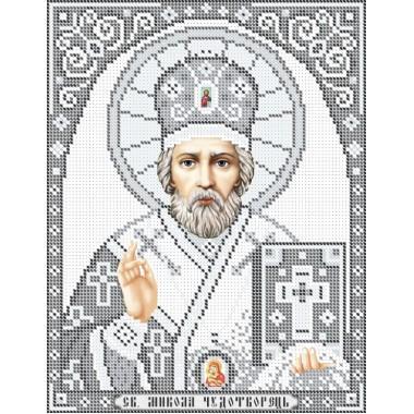 R-0219 Святий Миколай (срібло) А4