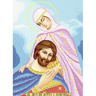 R-0221 Святі мученики Петро і Февронія А3