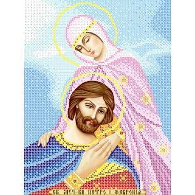 R-0222 Святі мученики Петро і Февронія А4
