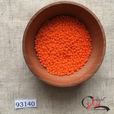 Чеський бісер Preciosa №93140 (моркв'яний) 10/0
