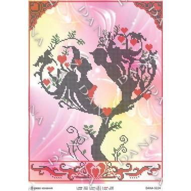 """Схема для вишивки бісером """"Дерево кохання"""""""