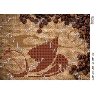 """Схема для вишивки бісером """"Зерно кави"""""""