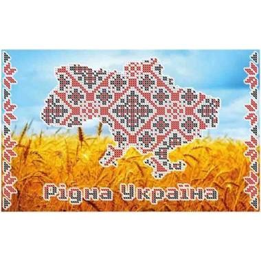 """Схема для вишивки бісером """"Рідна Україна"""""""