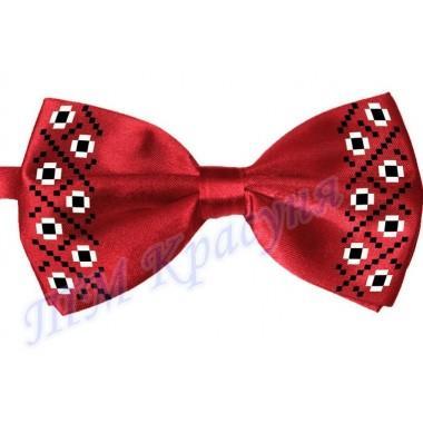 """Краватка-метелик під вишивку бісером """"Незвичайний орнамент"""""""