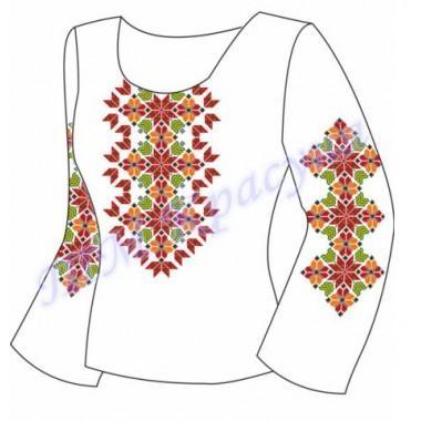 """Заготовка для жіночої блузки """"Зірковий орнамент"""""""