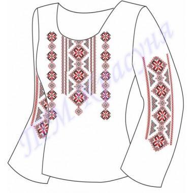 """Заготовка жіночої блузки під вишивку — орнамент """"Восьмикутна зірка"""""""