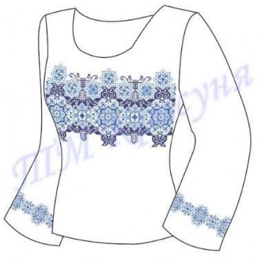 """Заготовка для жіночої блузки - орнамент """"Восьмикутна зірка"""""""