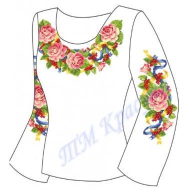 """Заготовка для жіночої блузки """"Патріотична"""""""