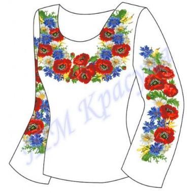 """Заготовка для жіночої блузки """"Дари літа"""""""