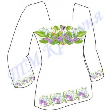 """Заготовка для жіночої блузки """"Ніжна весна"""""""