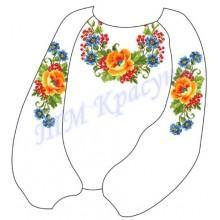 """Заготовка дитячої блузки під вишивку """"Кольорові сни"""""""