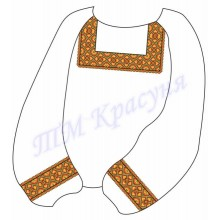 """Заготовка дитячої блузки під вишивку """"Осінній орнамент"""""""