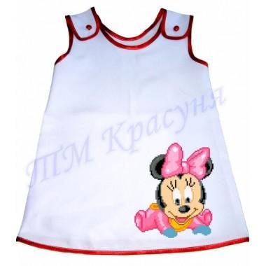 """Зшита заготовка дитячого плаття """"Мінні Маус"""""""