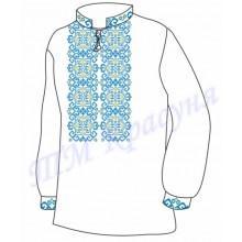 """Заготовка дитячої вишиванки """"Магічні зірки"""" (блакитні)"""