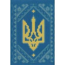 """Заготовка обкладинки на паспорт """"Герб в орнаменті"""""""