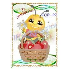 "Заготовка дитячого рушника на свято Спаса під вишивку ""Святкова бджілка"""