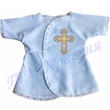 "Зшита заготовка сорочка для хрещення ""Хрест"""