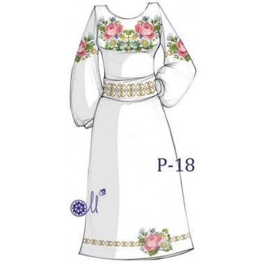 """Заготовка плаття під вишивку """"Цвіт літа"""""""