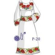 """Заготовка плаття під вишивку """"Маковий віночок"""""""