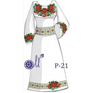"""Заготовка плаття під вишивку """"Дари літа"""""""