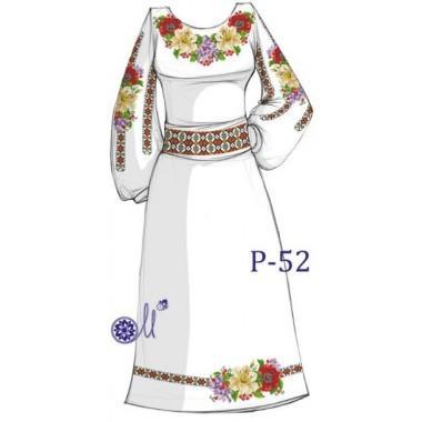 """Заготовка плаття під вишивку """"Чарівні квіти"""""""