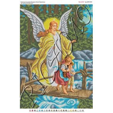 """Схема ікони для вишивки бісером """"Ангел Хранитель"""" (А2)"""