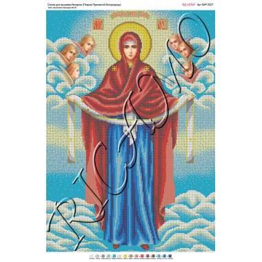 "Схема ікони для вишивки бісером ""Покров Пресвятой Богородицы"" (А2)"