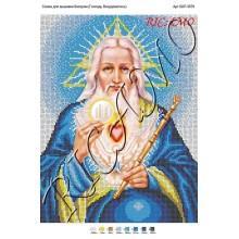 "Схема ікони для вишивки бісером ""Господь Вседержитель"" (А3)"