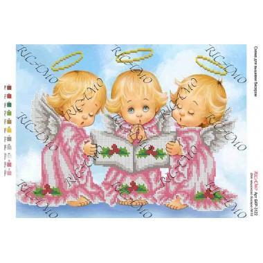 """Схема ікони для вишивки бісером """"Ангелочки"""" (А3)"""