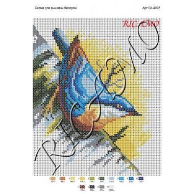 Схема картини для вишивки бісером (БК-4022)